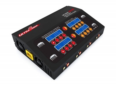 Ultra Power 4x100 AC/DC Quad Charger - Product Image