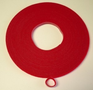Velcro Brand One Wrap Tape 1/2 Inch Red YARD - Product Image
