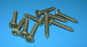 "Phillips Head Sheet Metal Screws #8 x 3/4""  10-Pack - Product Image"