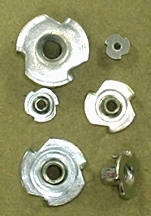 10-32 Blind T Nut 6 pack - Product Image