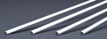 K & S Aluminum Streamline Tubing 1/4 x 36 Inch - Product Image