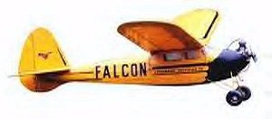 Ben Buckle Vintage Falcon Kit Plans Only - Product Image