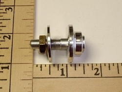Prop Adaptor 4.0mm motor shaft / 8mm threaded prop shaft - Product Image