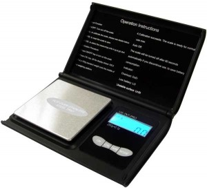 US Balance 500g x 0.1g Pocket Scale - Product Image