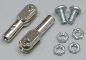 Du-Bro 4-40 Steel Thread-On Rod Ends - Product Image