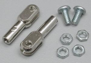 Du-Bro 4-40 Steel Thread-On Rod Ends - Product Image