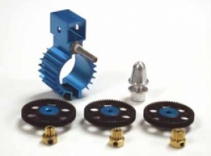 Himax Offset Gearbox for 20mm Brushless Motors - Product Image