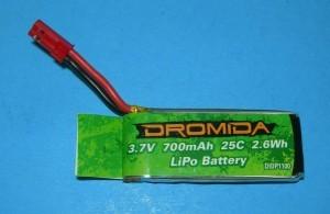 Dromida Ominus Battery 700mah 25c 3.7V - Product Image