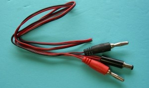 Futaba 6V TX Charge Cord FAT - Product Image