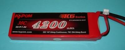 RRC K6 Series 4500 7.4V 2S 65C - Product Image