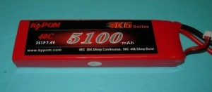 RRC K6 Series 5100 7.4V 2S 65C - Product Image