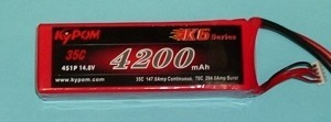 RRC K6 Series 4200 14.8V 4S 45C - Product Image