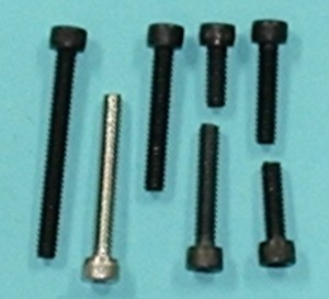 "Socket Head Cap Screw Alloy, 6-32 x 5/16""  Qty 6 - Product Image"