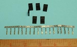 Male Connector Pin Kit Futaba J 50 Bulk - Product Image