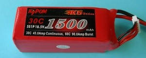 RRC K6 1500 18.5V 5S - Product Image