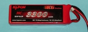 RRC K6 Series 3300 18.5V 5S 65C - Product Image