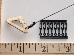 Radical RC Flexi-Keepers 2-56 Wire L Bends 4 Pack - Product Image