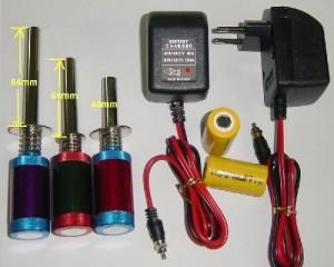 Glow Plug Igniter Only, Medium, 64mm - Product Image