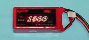 RRC K6 Series 18.5V 5S 1300mAh 65C  - Product Image