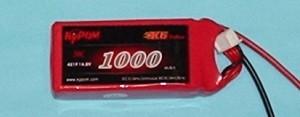 RRC K6 Series 14.8V 4S 1000mAh 30C ~LAST ONE LEFT, HALF OFF! - Product Image