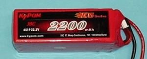 RRC K6 Series 2200 22.2V 6S 65C - Product Image