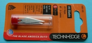 #11 Hobby Knife Blades 5 pack by Techni-Edge - Product Image