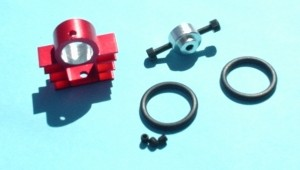 11mm CD-ROM Style Bearing Housing Mount to 10mm Square Boom - Product Image