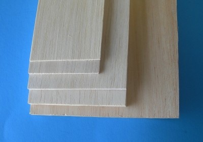 1/8 x 4 x 24 Inch Balsa Sheet - Product Image