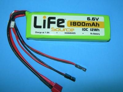 1800 6.6V 2S - Product Image