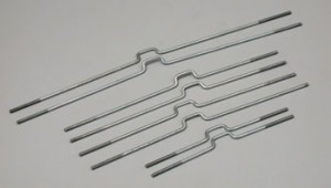 2-56 Double End Z-Bend Rods - Product Image