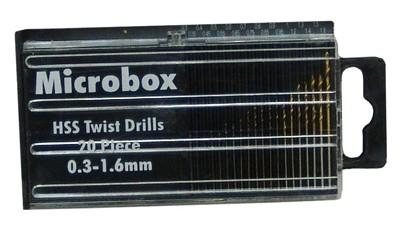 20 Piece Metric Micro Bit Set .03-1.6mm - Product Image