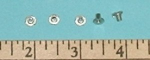 2mm Blind T Nut 5 pack - Product Image