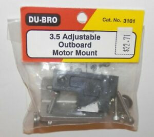 3.5 Adjustable Outboard Motor Mount - Product Image