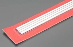 3mm  K & S Round Aluminum Tubing 30cm  4 PACK - Product Image