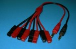 4x Anderson Power Pole / Sermos Charge Cord - Product Image