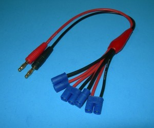 4 Way EC3 Charge Cord - Product Image