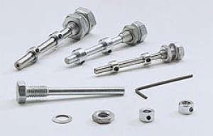 4mm (5/32 Inch) D x 50mm (2 Inch) Long Adjustable Axle Set - Product Image