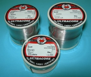60/40 Rosin Core Solder 1oz. Spool - Product Image