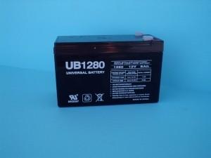 8 amp 12V Gel Lead Acid Field Battery - Product Image