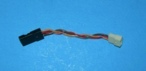 Adapter Micro JST servo to JR/Hitec/Airtronics Universal RX - Product Image