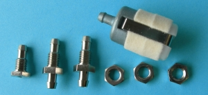 B&B Gas / Smoke Fuel Tank Fitting Set Large Klunk - Product Image
