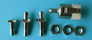 B&B Gas / Smoke Fuel Tank Fitting Set Small Klunk - Product Image