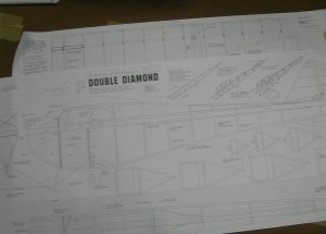 Ben Buckle Vintage Plans Set: Double Diamond Demon - Product Image