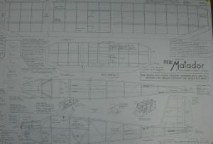 Ben Buckle Vintage Plans Set: Mercury Matador  - Product Image