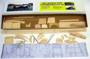 "Ben Buckle Vintage Scale Taylorcraft 057 48"" Kit - Product Image"