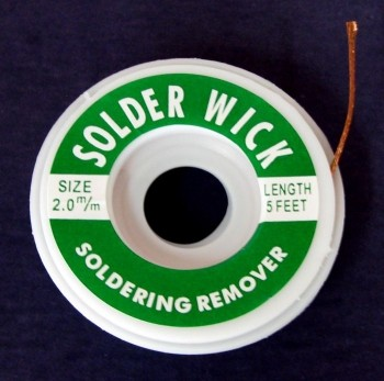 Braided Solder Wick - Product Image