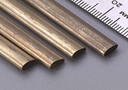 K & S Brass Streamline Tubing Small - Product Image