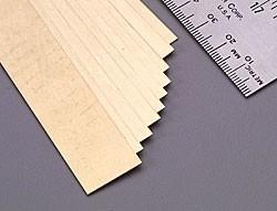 K & S Brass Strip .016 x 3/4 x 12 Inch - Product Image