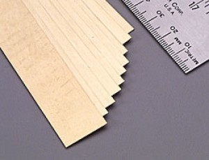 K & S Brass Strip .016 x 3/4 x 12 Inch - Product Image