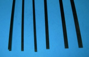 Carbon Strip Variety of Sizes (Min. qty. 6 rods total; any type rod mix O.K.) - Product Image